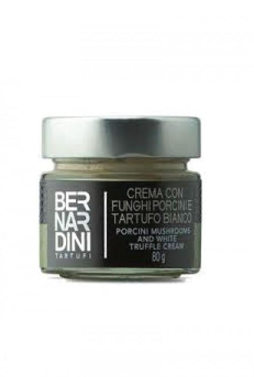 Bernardini - Crema con Funghi Porcini e Tartufo Bianco 80gr