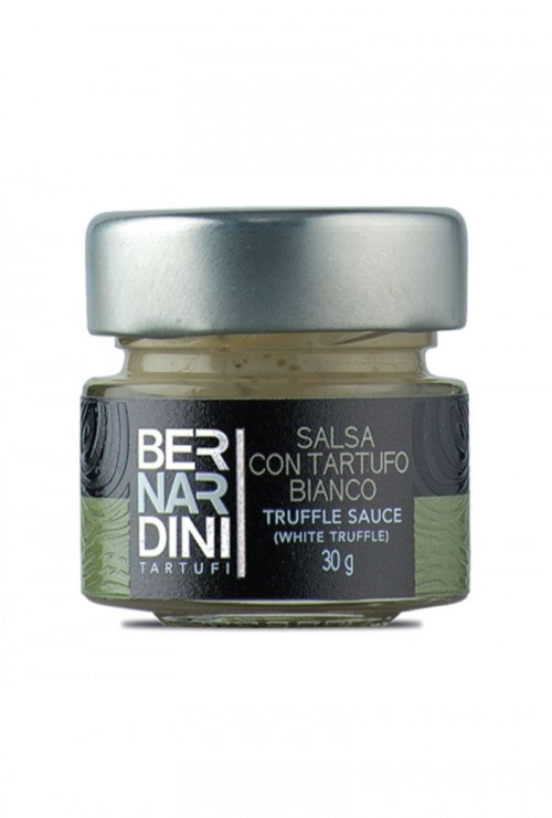 Bernardini - Salsa con Tartufo Bianco 30gr