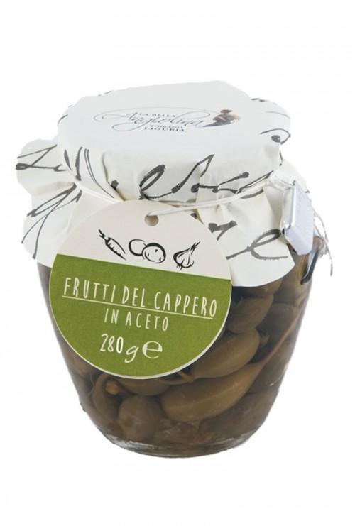I Sapori dell' Arca - La Bella Angiolina - Frutti del Cappero in Aceto 280gr