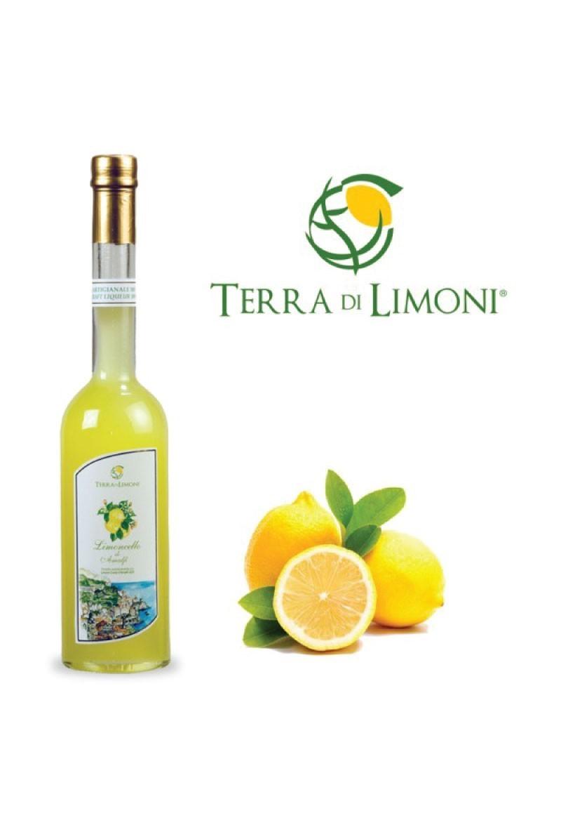 Terra di Limoni - Limoncello artigianale di Amalfi 30° 200 Cl