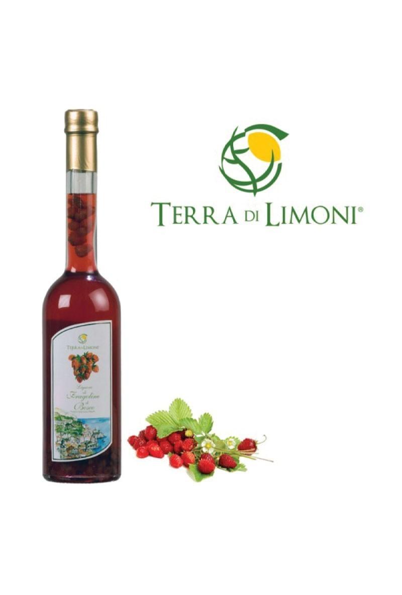 Terra di Limoni - Liquore di Fragoline di Bosco 30° 50 Cl