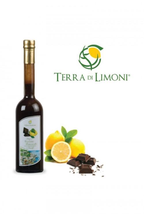 Terra di Limoni - Liquore al Cioccolato e Limoncello 18° 70 Cl