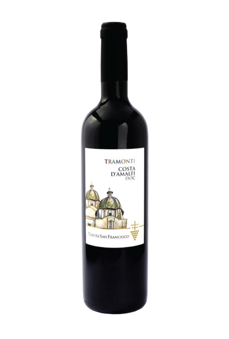 Tenuta San Francesco - Costa d'Amalfi - Tramonti Rosso ml 375 2017