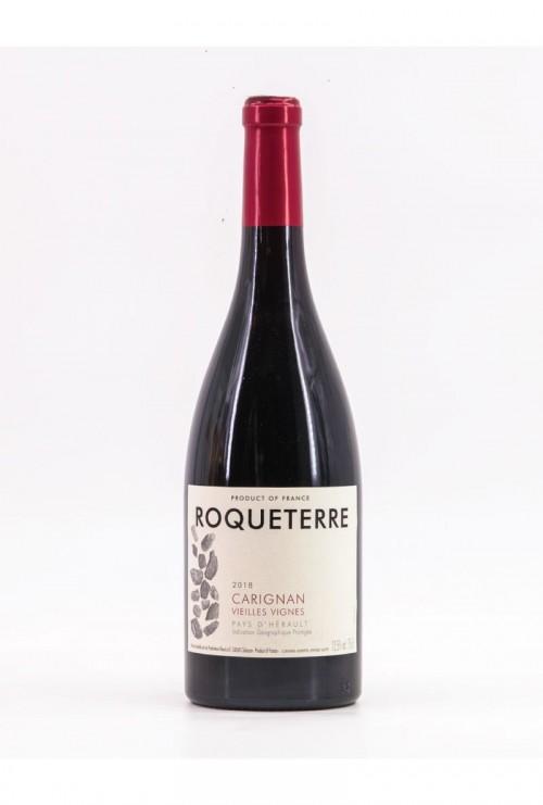 Roqueterre Carignan Vieilles Vignes Vdp Hérault 2019